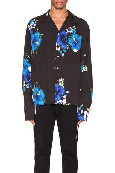 Hawaiian Long Sleeve Shirt