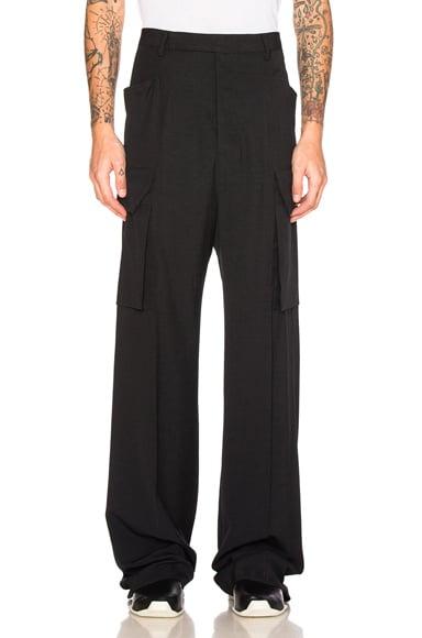 Tailored Cargo Pants