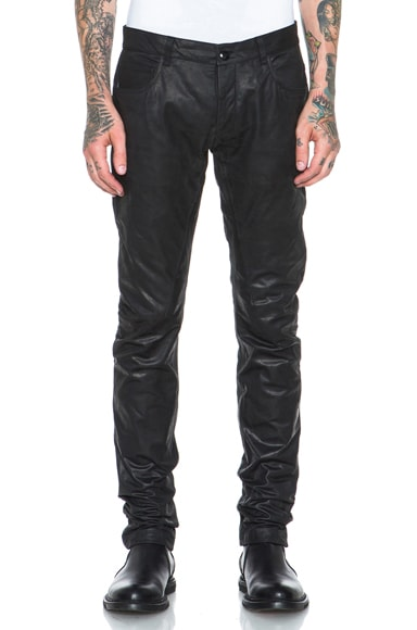 Detroit Cut Leather Pant