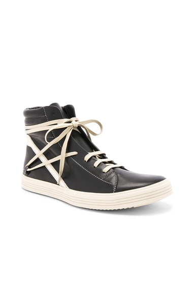 Leather Thrasher Sneakers