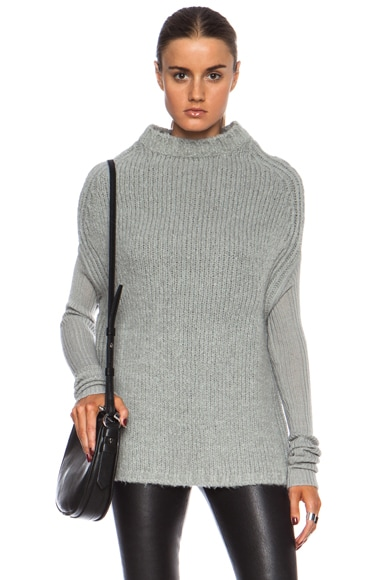 Crater Knit Cashmere-Blend Sweater