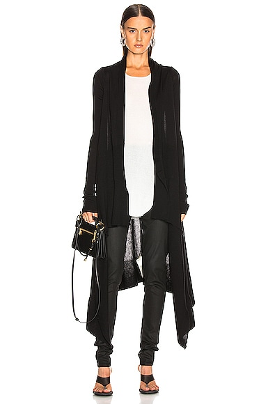 Long Wrap Cardigan