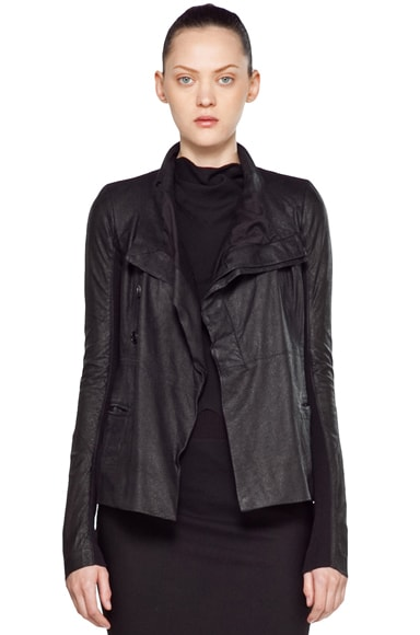 Leather Giacca Pelle Jacket