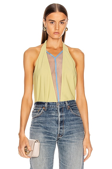 Double V Halter Top