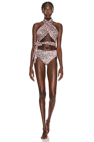 Wrap and Knot Swimsuit
