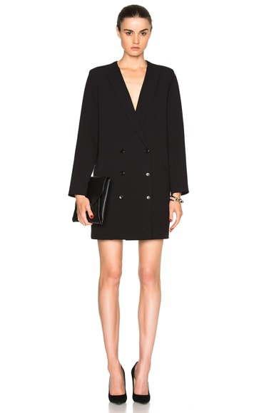 Vira Blazer Dress in Black