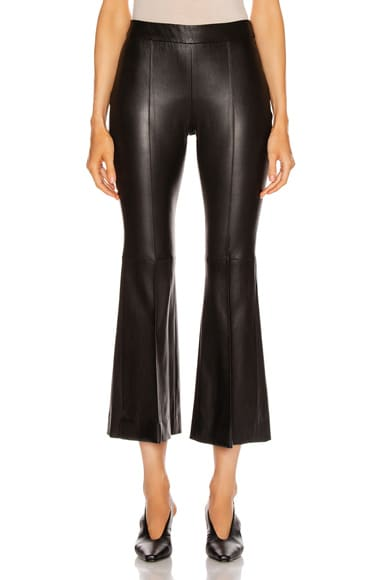 Pull On Cropped Flare Pant