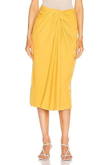 Twist Font Skirt