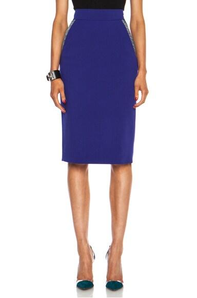Arwen Wool-Blend Skirt