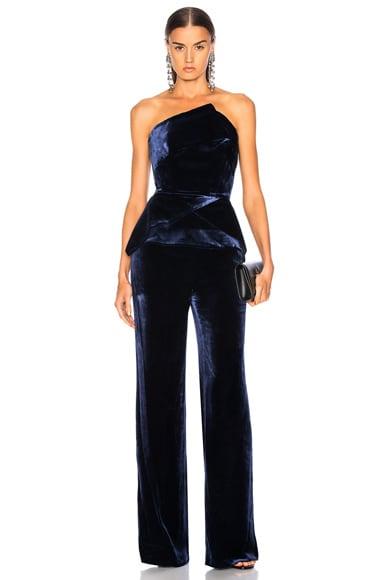 Carradine Velvet Jumpsuit