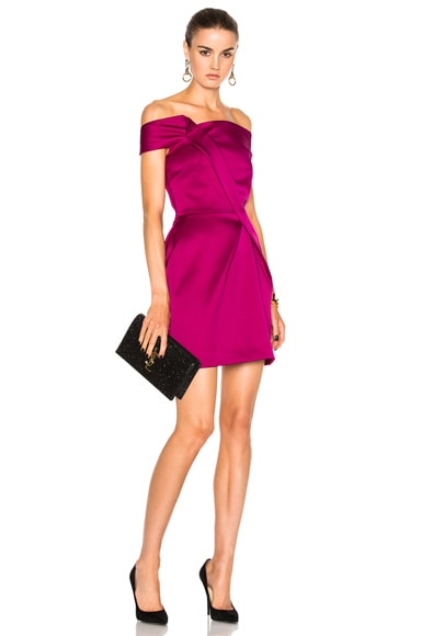 Herland Double Faced Satin Dress