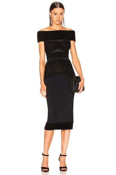 Hanbury Ripple Giselle Knit Dress