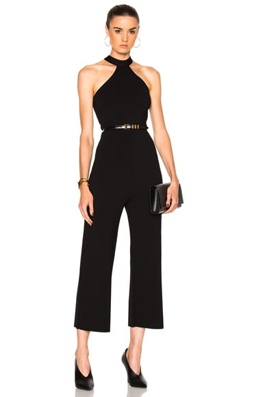 Linnel Plain Birdseye Stitch Jumpsuit