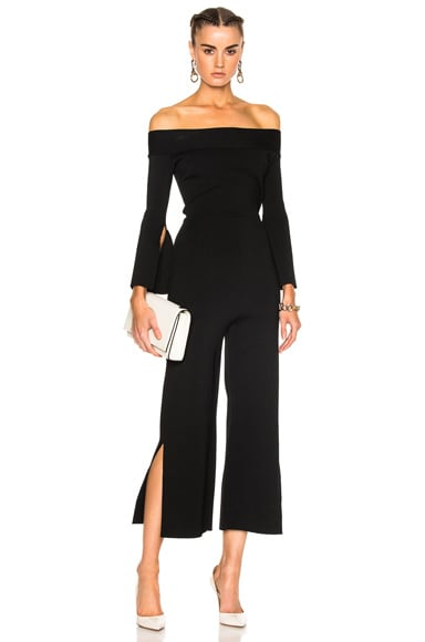 Felbridge Plain Birdseye Stitch Jumpsuit
