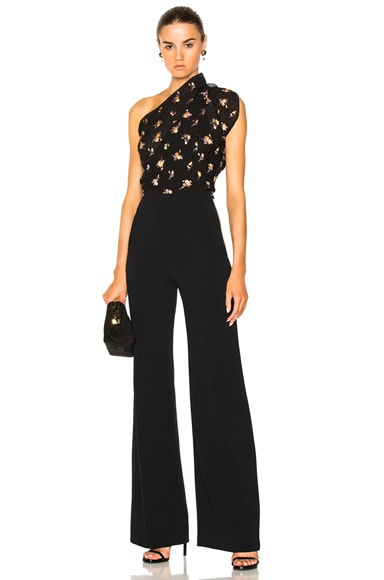Colburn Sleeveless Floral Jumpsuit