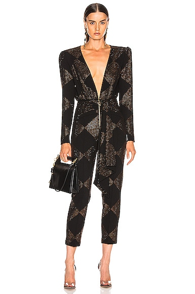 Strass Embelished Jumpsuit