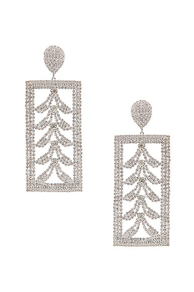 Bone Crystal Earrings