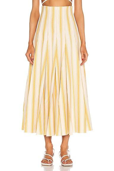 Rosie Assoulin Pleated skirts MILLION PLEAT SKIRT