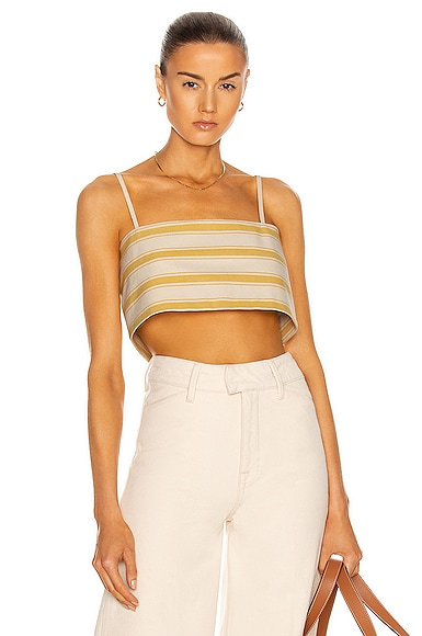 Rosie Assoulin EASY BANDEAU TOP