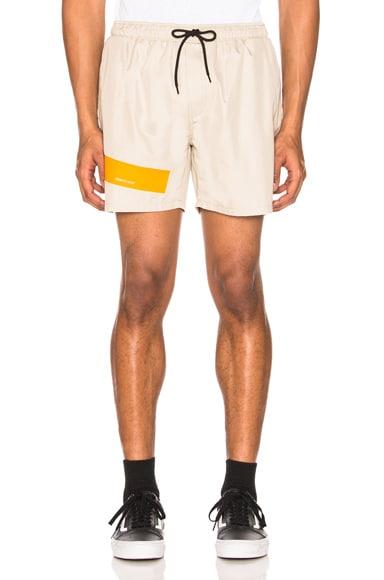 Taped Short Shorts