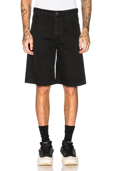 Chrome Patch & Paper Tag Shorts