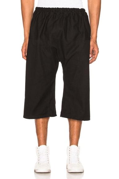 Elastic Short Pants