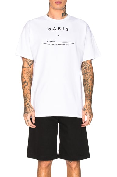 Big Fit Tour Graphic Tee