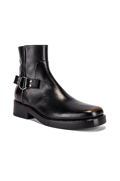 High Sole Strap Boot