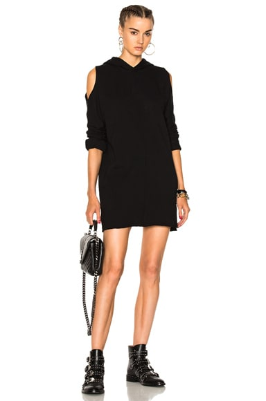 Joelle Hooded Sweatshirt Dress