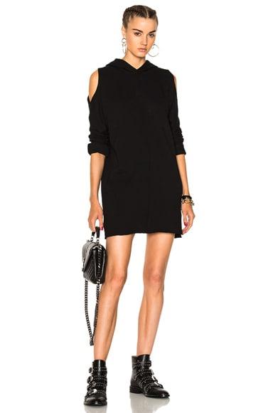 Joelle Hooded Sweatshirt Dress