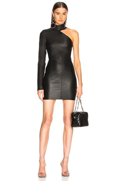 Lulu Leather Dress