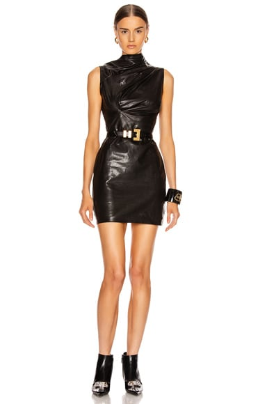 Holly Leather Dress