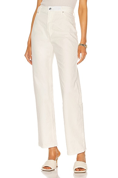 Rta Gaia Pant In Whisper White