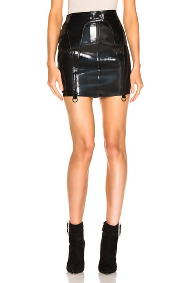 Zander Leather Skirt