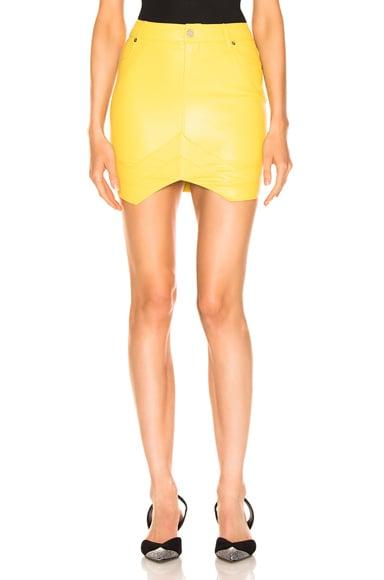 Tempest Leather Skirt