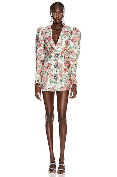 Carol Floral Mini Dress