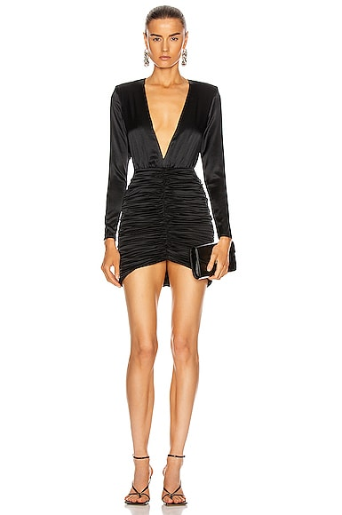 retrofete Brea Dress in Black | FWRD