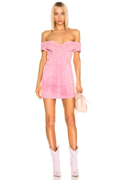 Hadley Suede Dress