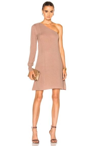 for FWRD One Shoulder Sweater Dress