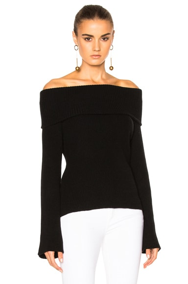 FWRD Exclusive Off the Shoulder Sweater