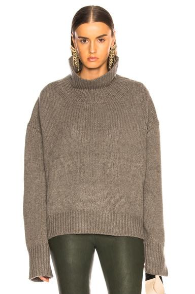 Scarlett Turtleneck Chunky Sweater