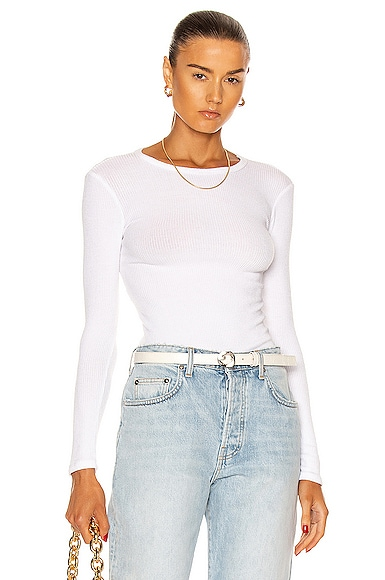 Sablyn Quincy Top In White