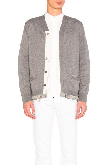 Cotton Cashmere Knit Cardigan