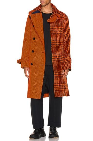 Glencheck Coat