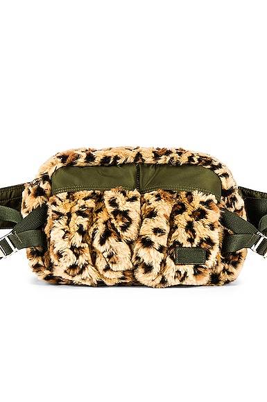 Leopard Faux Fur Waist Bag