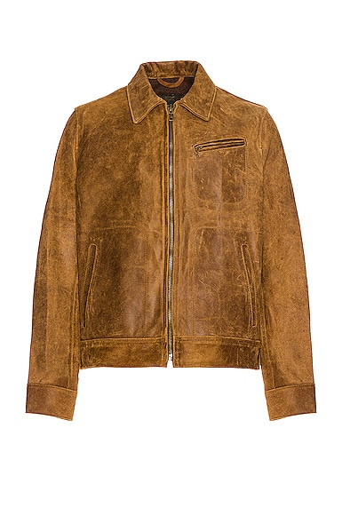 Duke Unlined Rough Suede Jacket
