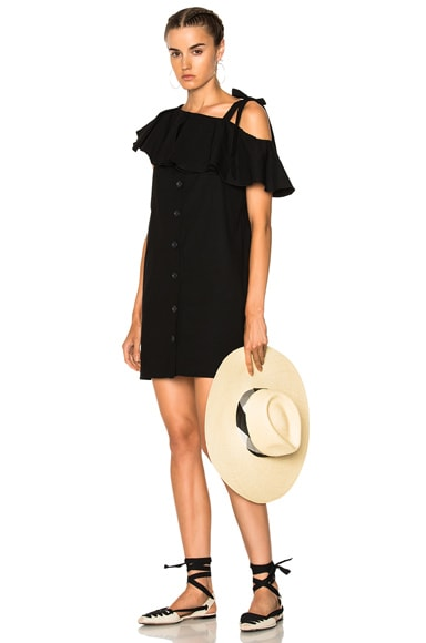 Lone Shoulder Shift Dress