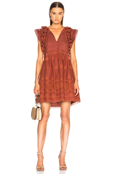 Sofie Lace Tunic Dress