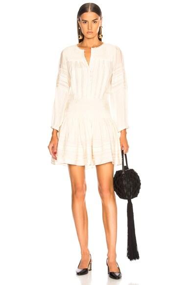 Azzedine Long Sleeve Tunic Dress