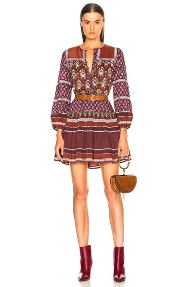 Mia Long Sleeve Tunic Dress